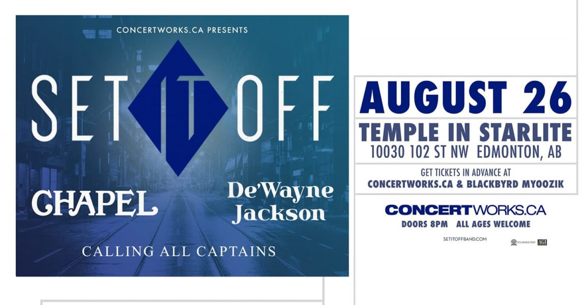Calling All Captains with Set It Off