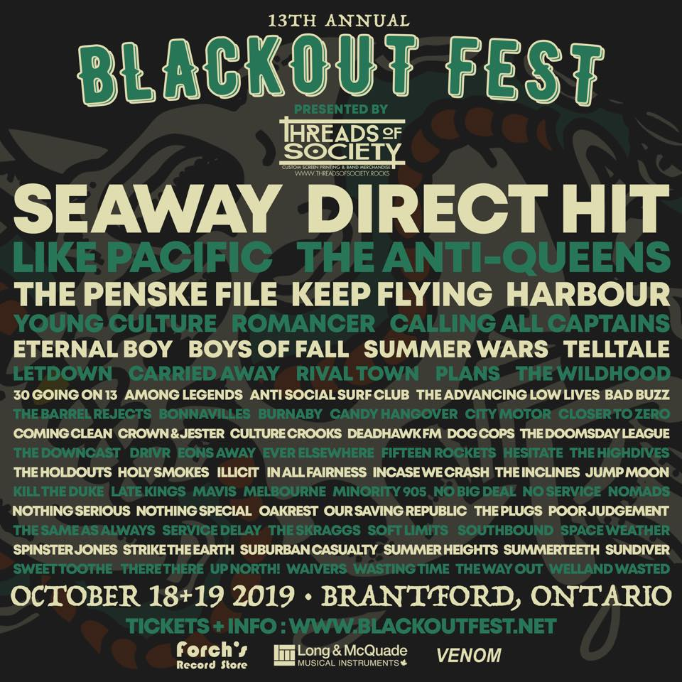 Blackout Fest - Calling All Captains