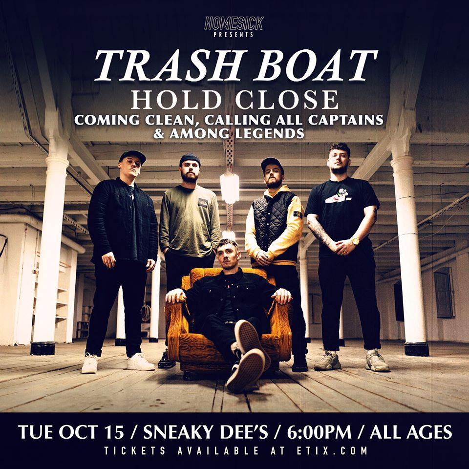 Trash Boat and Calling All Captains