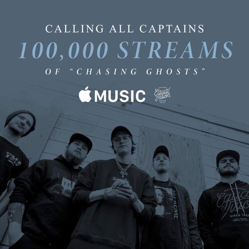 CAC 100k Streams Apple Music